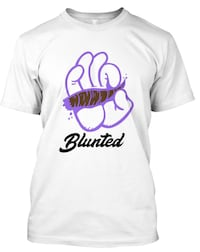 white and black blunted-printed crew-neck t-shirt Lancaster, 93535