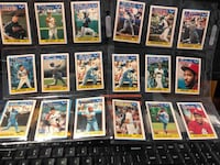 1988 Topps United Kingdom Minis  (6 Sleeves Of 18 Cards) Falls Church, 22046