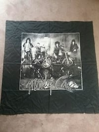 1987 Mötley Crüe tapestry rare back on tour this year Newark, 19711