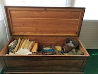 Antique Red Cedar lined Chest Cypress Gardens, 33884