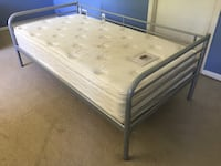 Bed with luxury mattress twin Rockville, 20852