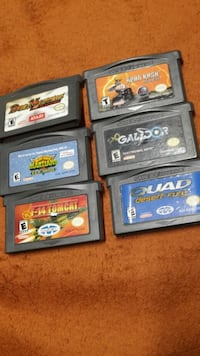 Gameboy Advance game lot *Game Boy GBA lot Fairfield