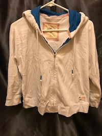 White and blue zip-up hoodie jacket Port Wentworth, 31407