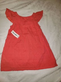 Old navy orange dress
