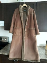 Coat long size medium