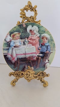 AUTHENTIC LIMOGES PLATE