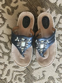 Black Clark summer sandals size 8 1/2 Lafayette, 47909