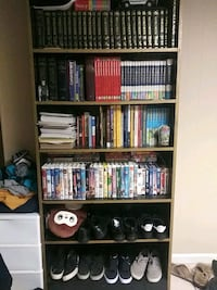 Book Shelf with encyclopedia for adults and kids