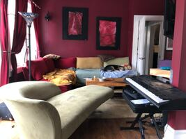 Eclectic/Vintage Chaise Lounge