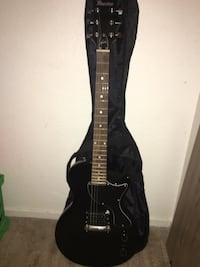 Black maestro electric guitar