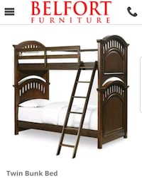 Bunk Bed with Mattresses for Sale Temple Hills