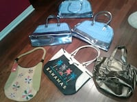 Assorted tote new purses 10$ each small purses 5$ Montreal, H8N 2S5