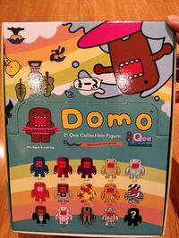 Domo blind box figures. Markham