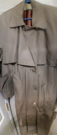 Women's trench coat size 14 regular never worn
