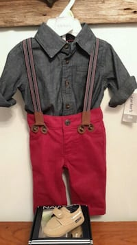 Carter new w tags plus nautical shoes Brownsville