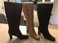 Knee high Ana boots. Black/brown/tan size 7 Allentown