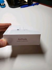 New Unopened - Apple Airpods with Wireless Charging Case