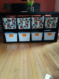 black and white wooden cabinet Burke
