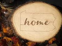 Handmade Woodburned Sign - Rustic Home Decor Bethlehem