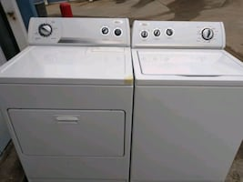 Whirlpool whaser and dryer set súper capacity plus