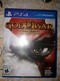 God of War Remastered PS4 game case Toronto, M9M 2P6
