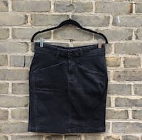 H&M Black Denim Skirt sz 8 Toronto, M1N 2Z9