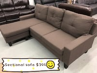 Brand new brown fabric sectional sofa warehouse sale  多伦多