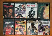Playstation 2 games Ottawa