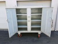 Large tool cabinet with wheels  San Diego, 92117