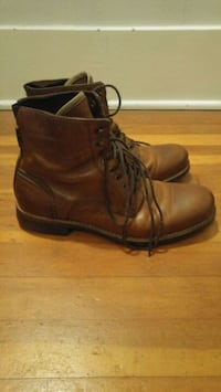 ALDO Men's Leather Boots US Size 8 Vancouver, V6L