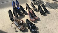 8 pairs of shoes/Aldo/Bebe/Guess size comes from size 6-7 Edmonton, T5Y 0C8