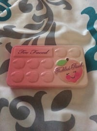Too faced tickled peach bite sized peach infused eyeshadow palette Pitt Meadows, V3Y 1M8