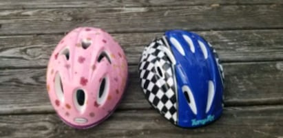 6 bicycles's helmets for sale