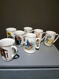 Norman Rockwell Vintage Mugs Hamilton, L9A 2X5