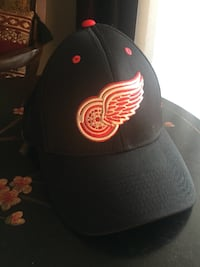 Black and red wings embroidered hat St Albert, T8N 3M6