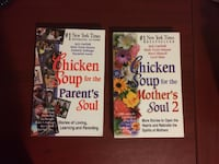 NEW Book - Chicken Soup for the Parent's Soul + Mother's Soul 2 Richmond Hill