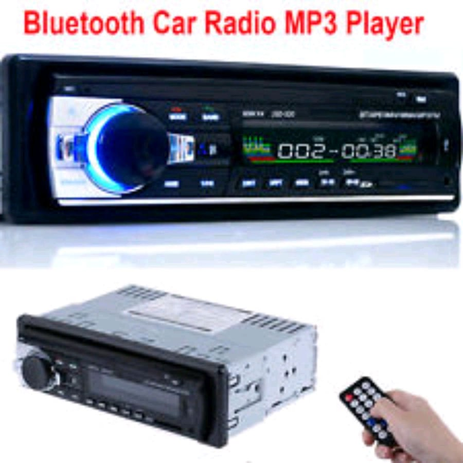 Bluetooth car stereo with USB slot
