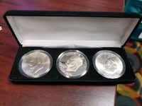 1976 Bicentennial Eisenhower Dollar 3-pc Mint Mark Collection   Toronto