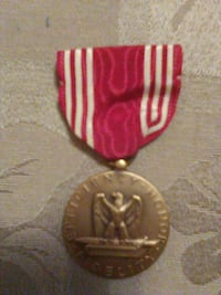 Authentic World War 2 good conduct medal Imperial, 63052