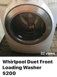 Front loading whirlpool washer $200 Dearborn Heights, 48127