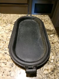Antique cast iron tray with handles. Virginia Beach, 23455