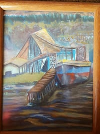 brown wooden framed painting of house Tigard, 97223