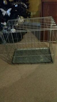 gray metal dog kennel Mississauga, L4W 2X9