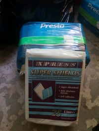 Pampers and liner for men