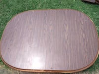 Wood Dining Table With Two Leaves - Will Deliver Washington, 20011