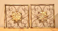 Small Metal Wall Decor Forest, 24551