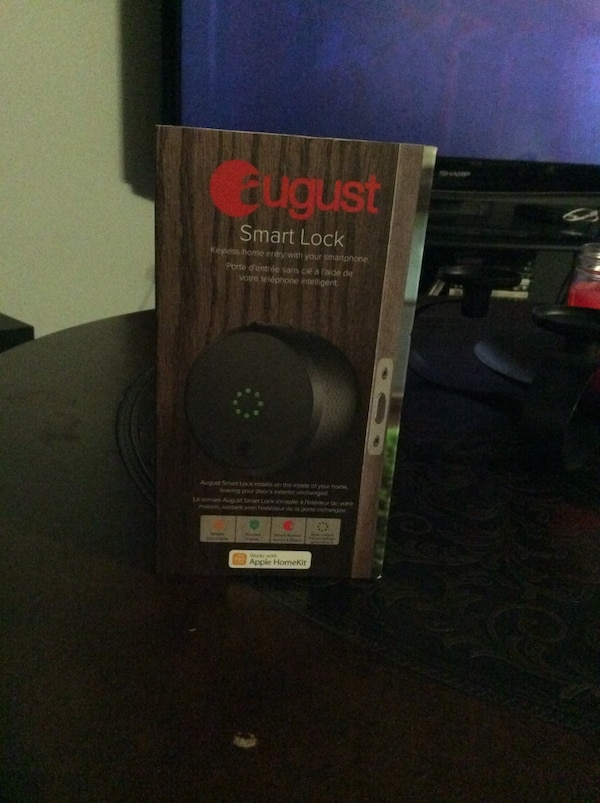 August smart locks brand new