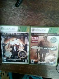 two Xbox 360 game cases Kansas City, 64108