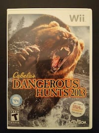 Sony PS3 Cabela's Dangerous Hunts 2013 for Wii