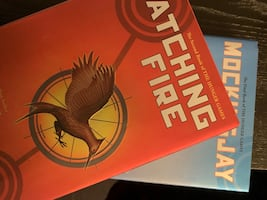 Hardcover- Catching Fire & Mockingjay